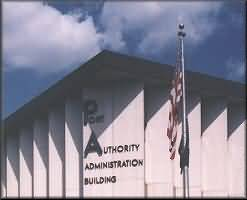 An US Port Authority building